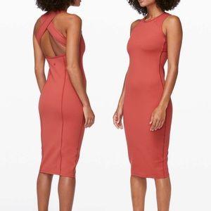 Lululemon Picnic Play Dress - Brick Rose